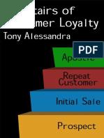 Stairs of Customer Loyalty ERep - Dr. Tony Alessandra