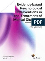 Evidence Based Psych Interventions