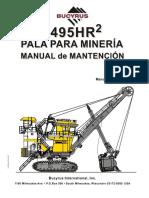 Manual de Mantencion 495HR2