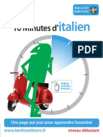 10 minutes d'italien