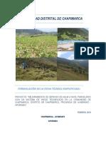 Ficha Tecnica - Chapimarca