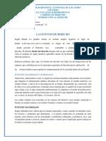 Analizis de Las Fuentes de Derecho