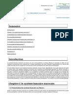 Memoire Online - Le Secteur Bancaire Marocain - Sana Oulaouaina