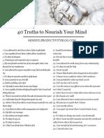 40 verdades