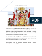 Advocaciones Marianas Peru