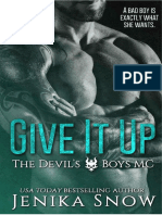 01 Desistir -The Devil's Boys MC -Jenika Snow