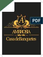 Ambrosia Cotizacion Bautizo