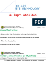 Concrete Technology (B.Tech Civil Engineering) Theory