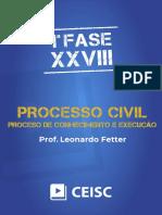 Material de Apoio - Processo Civil - Processo de Conhecimento e Execução