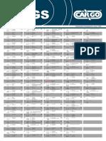 Designacion de Terminales Para Alternadores