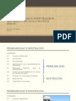 4. Permeabilidad e Infiltracion