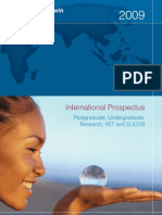 Charles Darwin University International Prospectus 2009