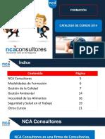 Catálogo de Cursos - NCA Consultores