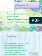 Explanation Text..