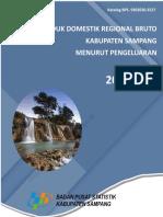Produk Domestik Regional Bruto Menurut Pengeluaran Kabupaten Sampang Tahun 2013 - 2017.pdf