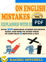 Common English Mistakes Explained With Examples Over 300 Mistakes