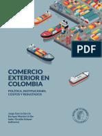 Comercio Exterior en Colombia Poltica Instituciones Costos y Resultados