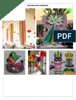 Decoración Carnaval