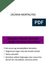 Ukuran Mortalitas Selvi