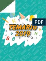 Temario Secundaria Nuevo So  2019 actulizado