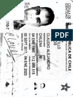 Cédula de identidad como conocerla