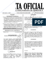 Gaceta Oficial Extraordinaria 6484 Decreto 3997