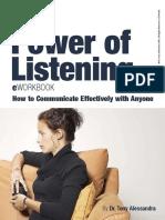 Power of Listening