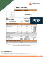 Ficha Técnica Bloqueta 8