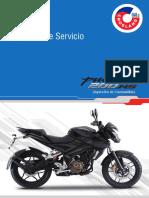 Manual de Servicio Pulsar 200 NS FI ABS