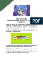 Funciones y Factores Del Lenguaje