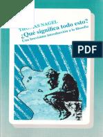 [Thomas Nagel] Que Significa Todo Esto Una Brevi(Bookos.org)