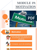 Motivation Report