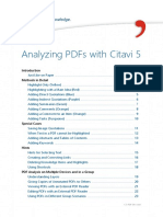 Citavi 5 Analyzing PDFs