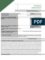 Proyecto Formativo 2,012