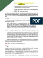 Vda. de Fernandez vs. National Life Insurance Co of the Phils