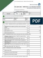 Servicio de Impuestos Nacionales - Certificación de Declaraciones Juradas