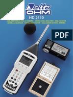 HD2110 ING Depliant