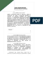 14) Belgica vs Executive Secretary Paquito Ochoa