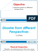 2 - Disasters from Different Perpectives.pptx