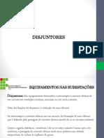 Equipamentos Nas Subestações - Disjuntores