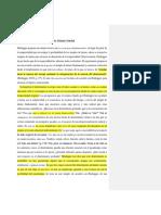 Resumen parágrafos 29-30 Heidegger Conceptos Fundamentales de la Metafísica
