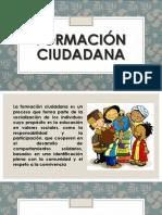 Formación ciudadana diapositivas