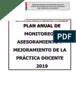 Plan de Gestion de Riesgo y Contingencia 2019 Ceba Sm