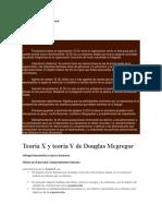 Teoria desarrollo rganizacional
