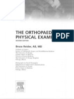 The Orthopaedic Clinical Examination - Reider