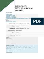 Examen Parcial Quimica