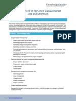 Director PMO Job Description (1)