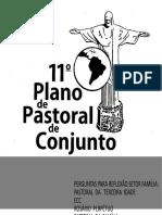 11º PLANO PASTORAL FAMÍLIA