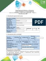 Guía de Actividades y Rúbrica de Evaluación - Paso 1 - Introducción ABPr