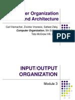 Computer Organization and Architecture (18EC35) - Input/Output Organization (Module 3)